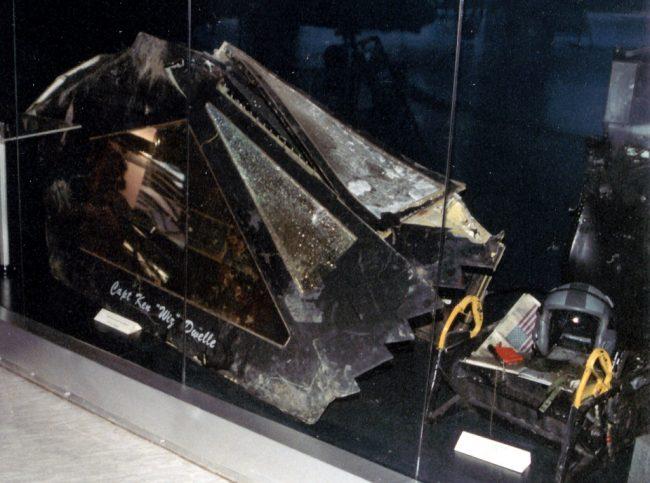 F 117 vrak muzeum