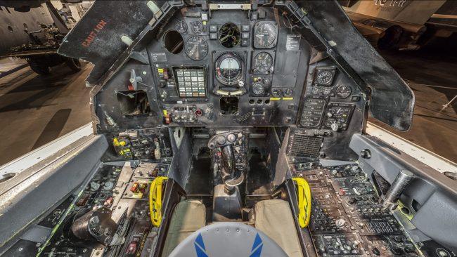 Lockheed F 117A cockpit