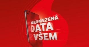Neomezená data všem Vodafone