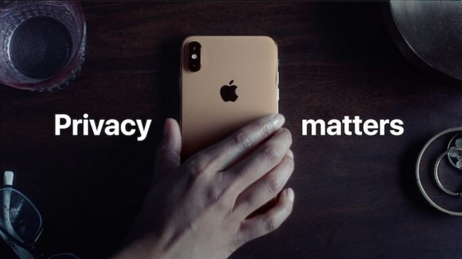 privacy matters apple ad