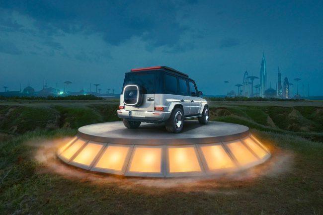 Mercedes Benz Concept EQG 01