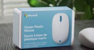 Microsofts Ocean Plastic Mouse