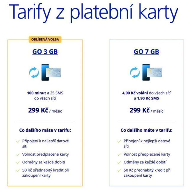 Tarify GO
