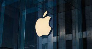 apple logo store unsplash laurenz heymann