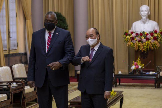 austin prezident vietnam