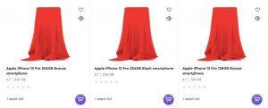 iphone 13 pro storage