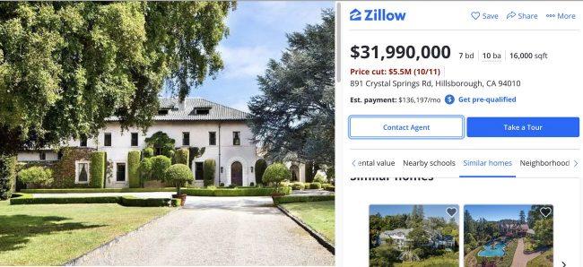 elon musk house sale