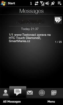 Ukázková zpráva profilu pro seznamovací server