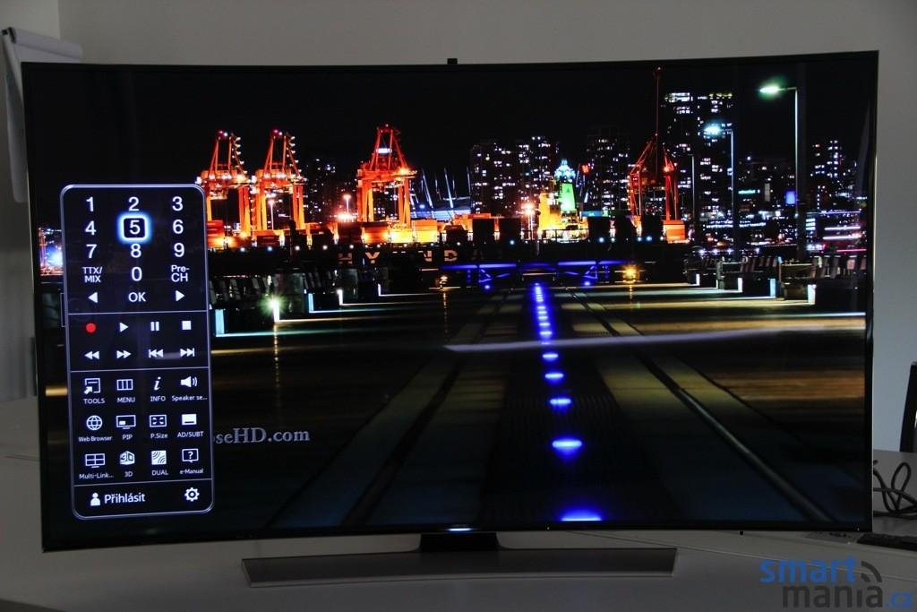 Recenze Ultra Hd Televize Samsung Ue65hu8500 Zakřiven 253