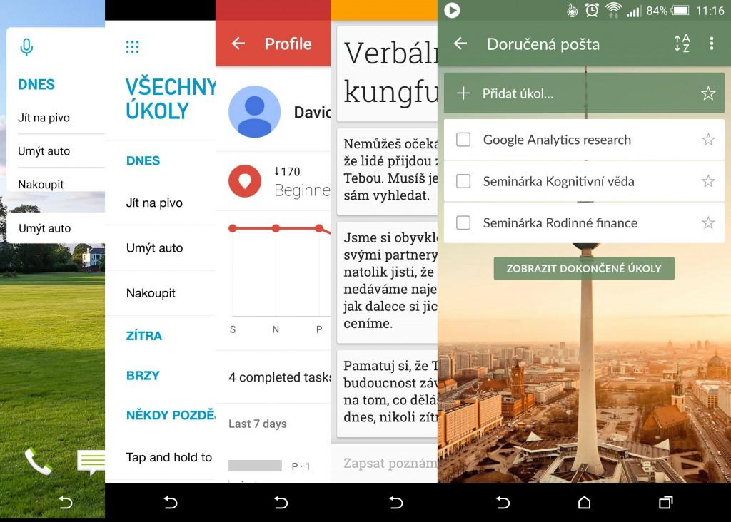 Připojte aplikace pro Android
