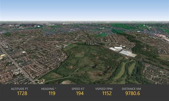 flightradar24 cockpit view